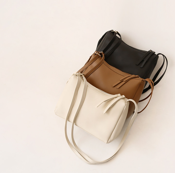 [BAG] TENDE DOUBLE STRAP LEATHER BAG