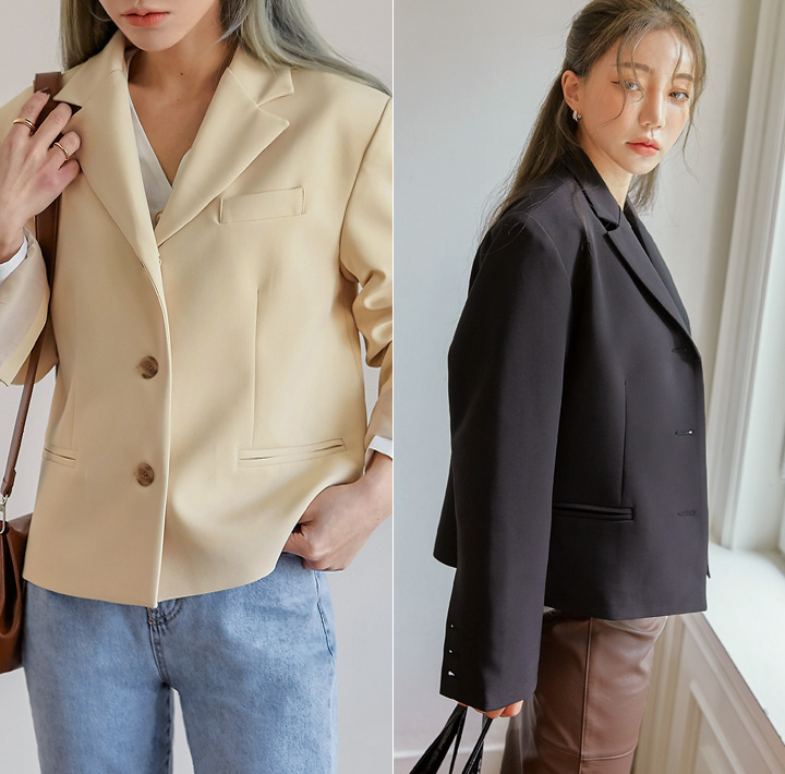 [OUTER] DARIO CLASSIC SHORT JACKET