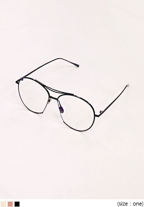[ACC] SIMPLE COLOR FRAME GLASSES
