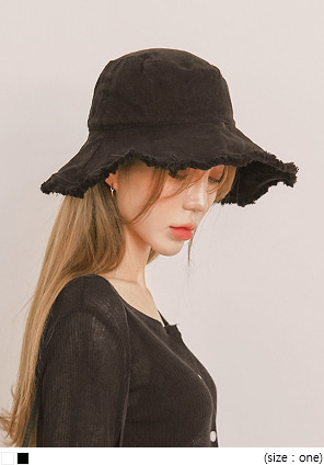 [ACC] FORMAL NATURAL BUCKET HAT
