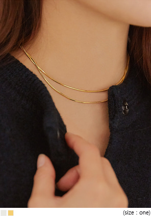 [JEWELRY] ELATE LAYERED NECKLACE