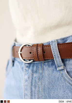 [ACC] HALF RING BUCKLE BELT