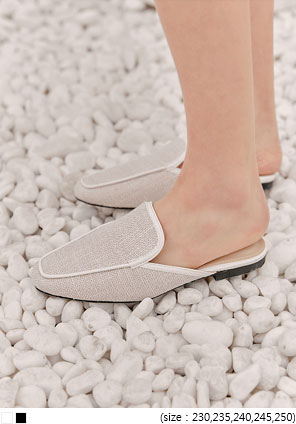 [SHOES] BLISS FABRIC BLOAFER